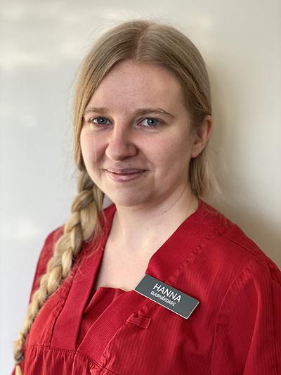 Hanna Åberg porträtt